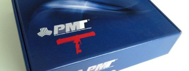Новая упаковка пистолетов ПМТ уже в России.